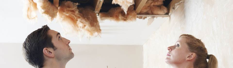 kapond plafond na lekkage